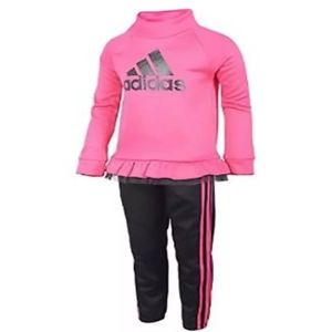 5T Adidas tricot zip jacket set
